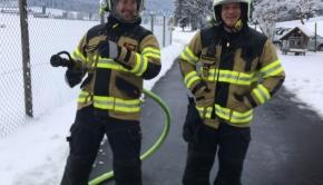 Küchenbrand 11. Januar 05