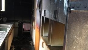 Küchenbrand 11. Januar 14