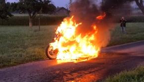 Motorradbrand 4. Sept.
